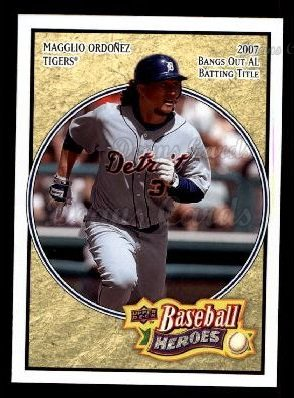 2008 Upper Deck Heroes #62  Magglio Ordonez