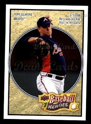 2008 Upper Deck Heroes #8  Tom Glavine