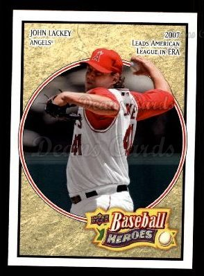 2008 Upper Deck Heroes #85  John Lackey