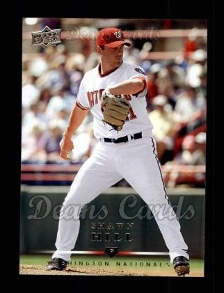 2008 Upper Deck #161  Shawn Hill