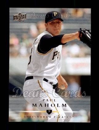 2008 Upper Deck #201  Paul Maholm
