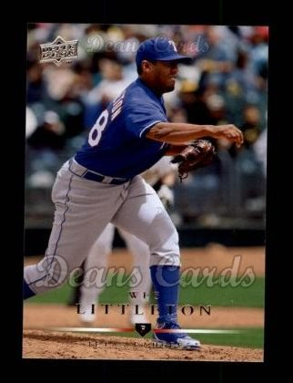 2008 Upper Deck #214  Wes Littleton