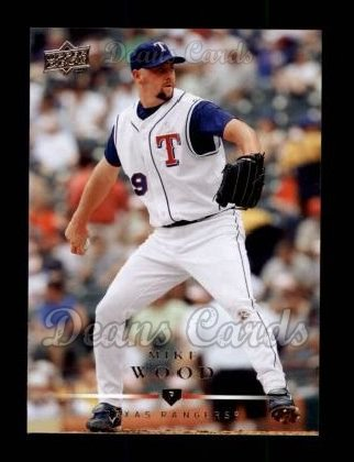 2008 Upper Deck #215  Mike Wood