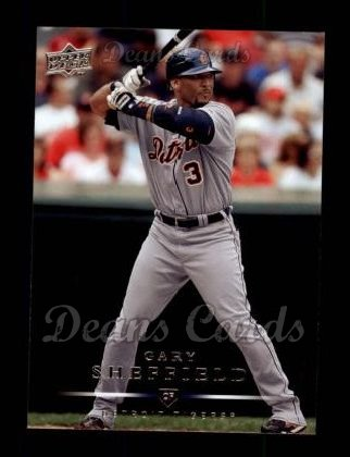 2008 Upper Deck #269  Gary Sheffield