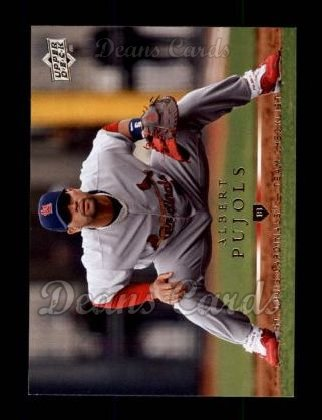 2008 Upper Deck #357  Albert Pujols