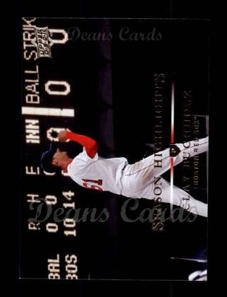 2008 Upper Deck #384   -  Clay Buchholz  Highlights
