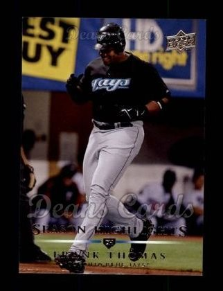 2008 Upper Deck #386   -  Frank Thomas  Highlights