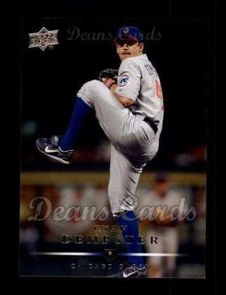 2008 Upper Deck #75  Ryan Dempster