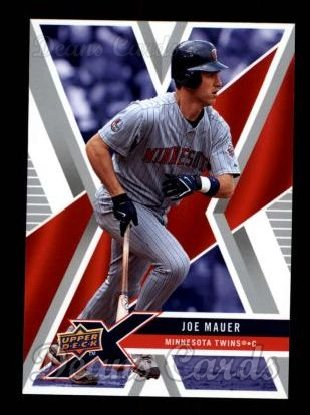 2008 Upper Deck X #60  Joe Mauer