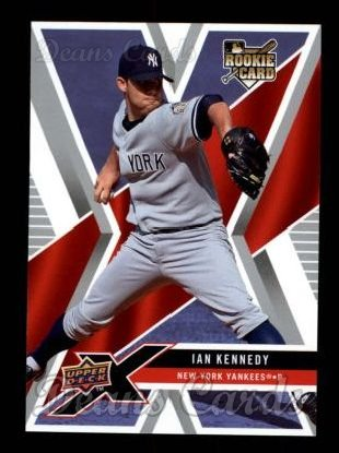 2008 Upper Deck X #66  Ian Kennedy