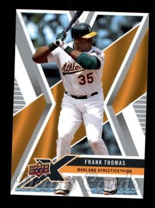 2008 Upper Deck X #73  Frank Thomas