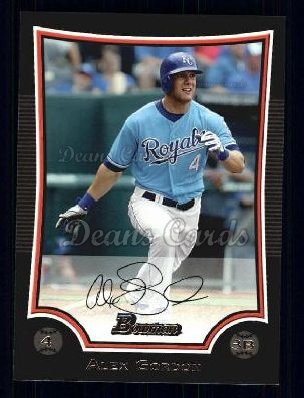 2009 Bowman #134  Alex Gordon