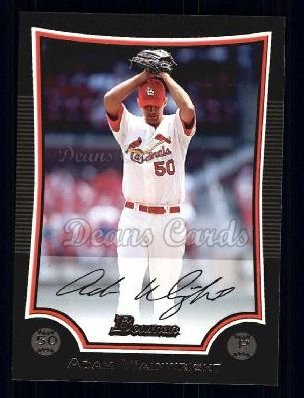2009 Bowman #137  Adam Wainwright