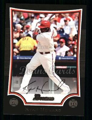 2009 Bowman #14  Ryan Howard