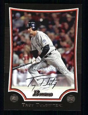 2009 Bowman #153  Troy Tulowitzki