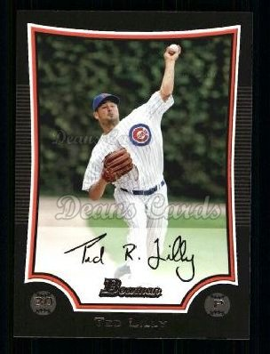 2009 Bowman #17  Ted Lilly