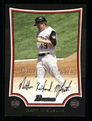 2009 Bowman #19  Nate McLouth