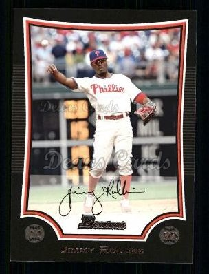 2009 Bowman #6  Jimmy Rollins