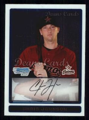 2009 Bowman Chrome Prospect #48 BCP Chris Johnson