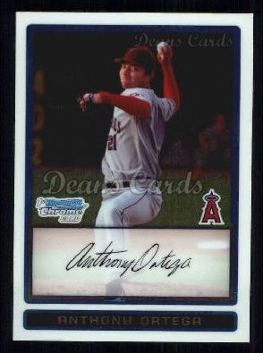 2009 Bowman Chrome Prospect #57 BCP Anthony Ortega