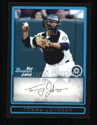 2009 Bowman Prospect #80 BP Tommy Johnson