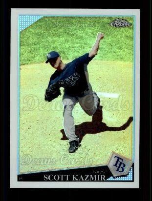 2009 Topps Chrome Refractor #155  Scott Kazmir