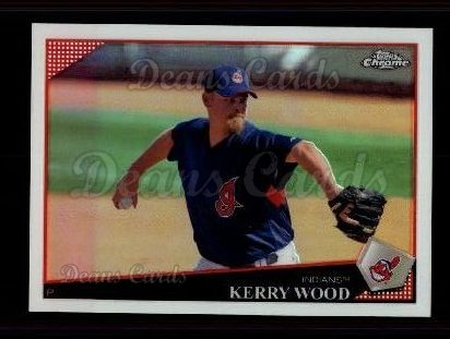 2009 Topps Chrome Refractor #2  Kerry Wood
