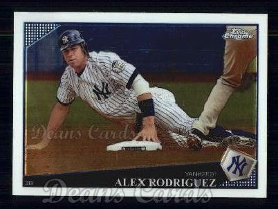 2009 Topps Chrome #1  Alex Rodriguez
