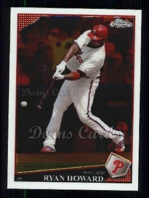 2009 Topps Chrome #139  Ryan Howard