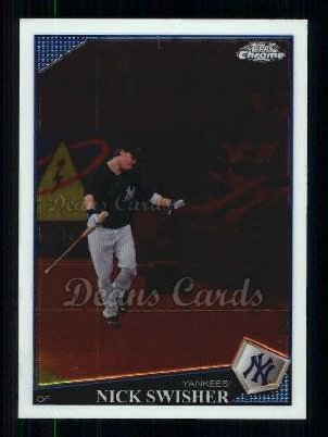 2009 Topps Chrome #145  Nick Swisher