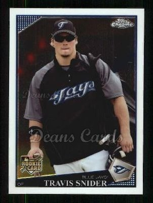 2009 Topps Chrome #171  Travis Snider