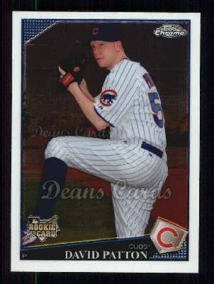 2009 Topps Chrome #197  David Patton