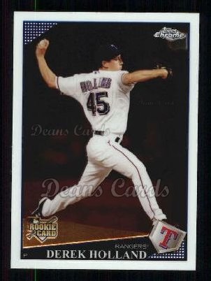 2009 Topps Chrome #218  Derek Holland