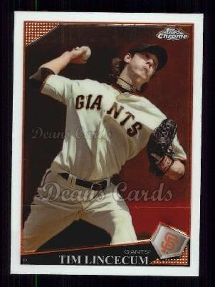 2009 Topps Chrome #60  Tim Lincecum