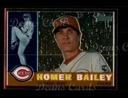 2009 Topps Heritage Chrome #116  Homer Bailey