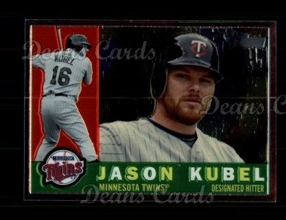 2009 Topps Heritage Chrome #135  Jason Kubel