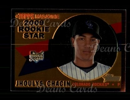 2009 Topps Heritage Chrome #139  Jhoulys Chacin