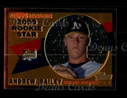 2009 Topps Heritage Chrome #143  Andrew Bailey