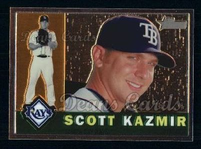 2009 Topps Heritage Chrome #25  Scott Kazmir