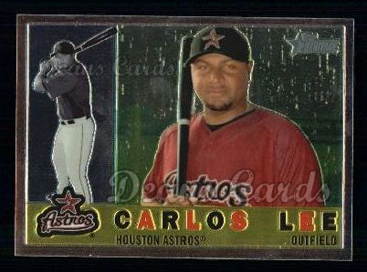 2009 Topps Heritage Chrome #99  Carlos Lee