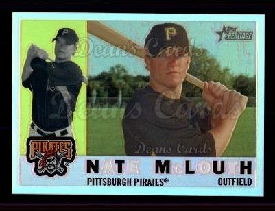2009 Topps Heritage Chrome Refractor #30 CHR Nate McLouth