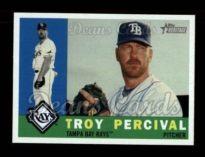 2009 Topps Heritage #202  Troy Percival