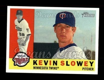 2009 Topps Heritage #430  Kevin Slowey