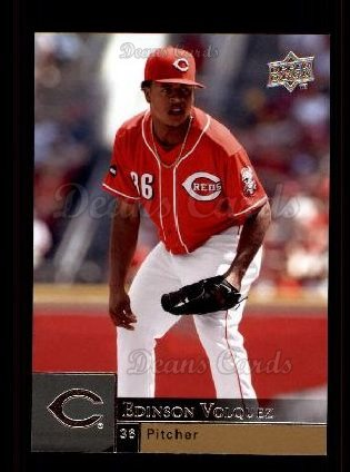 2009 Upper Deck #604  Edinson Volquez