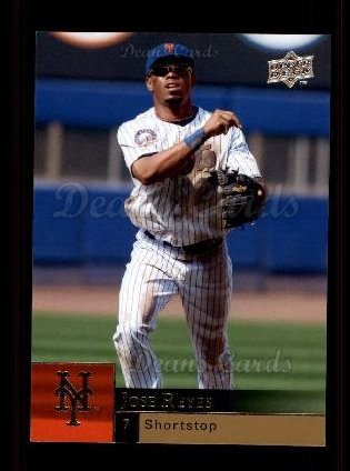 2009 Upper Deck #762  Jose Reyes