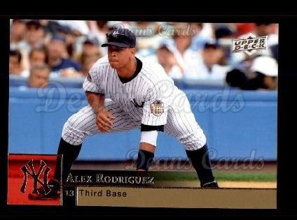 2009 Upper Deck #781  Alex Rodriguez