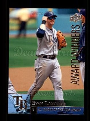 2009 Upper Deck #969   -  Evan Longoria Award Winners