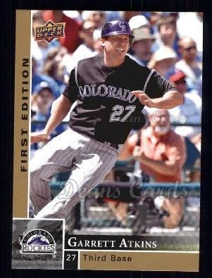 2009 Upper Deck First Edition #100  Garrett Atkins