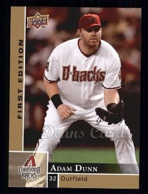 2009 Upper Deck First Edition #11  Adam Dunn