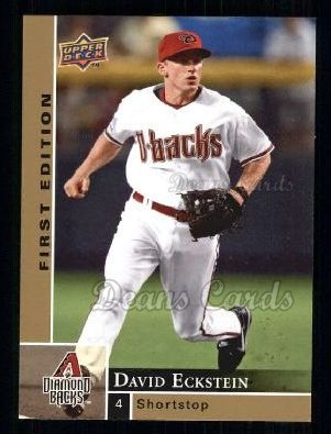2009 Upper Deck First Edition #12  David Eckstein